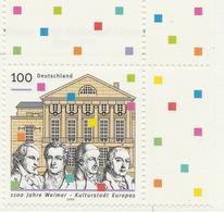 PIA - GER- 1999 : 11° Centenario Di Weimar - Città Europea Della Cultura 1999  - (Yv 1860) - [7] Repubblica Federale