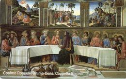 SCHEDA TELEFONICA NUOVA VATICANO 96 ULTIMA CENA - Vaticaanstad