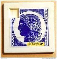 Taquin - Pousse Pousse - La Poste - Timbre Ceres - Casse-têtes