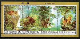 Korea North 2003 Corea / Animals Mammals Nature MNH Naturaleza Mamíferos Fauna Säugetiere / Cu12916  34-17 - Sellos