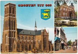 Groeten Uit Oss - Grote Kerk Met DRAGLINE - Oss