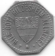 *notgeld Hildesheim 10 Pfenng 1918 Fe 20,6 Mm  6368.7 / F212.2 - [ 2] 1871-1918 : Empire Allemand