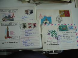 Lot De 59 Lettre Entier Stationery Card Russie Urss   Grosny Lituanie Rtc.. Embleme Judaica Menorah - Rusia & URSS