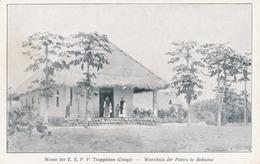 CPA - Afique - Congo - Missie Der E.E.P.P. Trappisten - Woonhuis Der Paters Te Bokuma - Kinshasa - Leopoldville