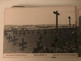 Becelaere - Beselare Deustcher Kriegerfriedhof - Becelaere 51 - Cimetiere Allemand - Photo Kerling Weltkrieg 1914-18 - Zonnebeke