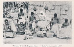 CPA - Afique - Congo - Missie Der E.E.P.P. Trappisten - Borduuwerksters Aan Den Arbeid - Kinshasa - Leopoldville