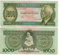 Hongrie Billet  1000 Forint 1988  Sup - Hongrie