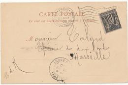 PARIS - Cachet Paris Exposition, Flamme Drapeau Sur Carte Postale, La Tour Eiffel - 2 Scans - Autres