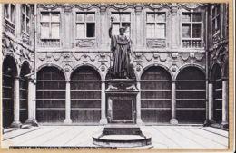X59141 Etat Parfait - LILLE Nord La Cour De La BOURSE Et Statue De NAPOLEON 1er Aqua-Photo LEOPOLD-VERGER L.V 29 - Lille