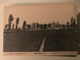 Ehrenfriedhof 27 Kerling Beveren Roeselare 1917 1918 Graven Flandern Menen Wald Kriegerfriedhof - Roeselare
