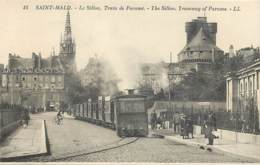 35 , ST MALO ,  Le Sillon , Train De Paramé , * 428 79 - Saint Malo