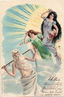 Année Date Millesime - 1899 1900 - Reinicke & Rubin, Femmes Soleil Homme Faux - Nouvel An