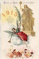 Année Date Millesime - 1914 1915 - Allemagne Ange Cor Soleil (EAS) - Nouvel An