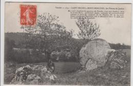 SAINT MICHEL MONT MERCURE LES PIERRES DE JUSTICE 1908 TBE - France