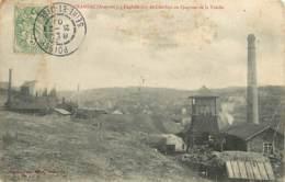 12 , CRANSAC , Exploitation De Charbon Au Quartier De La Treille , * 429 92 - Francia