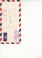 BANGLADESH  1986 - Affrancatura Meccanica Rossa Su Lettera Per Italia - Bangladesh