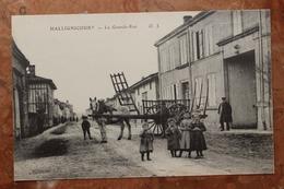 HALLIGNICOURT (52) - LA GRANDE RUE - Other Municipalities