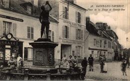 SAINT LEU TAVERNY PLACE DE LA FORGE ET GRANDE RUE - Saint Leu La Foret