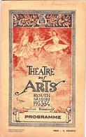 Théâtre Des Arts Rouen (76) 1933-34  24 Pages Textes Photos Publicités     Gravure Conrad - Programs