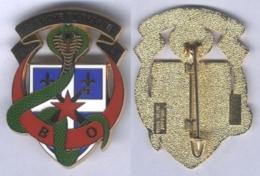 Insigne De La Batterie D'Opérations Du 40e Régiment D'Artillerie - Esercito