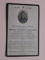 DP Toussaint GAILLIOT ( Née Sophie Lefebvre ) Ham-en-Artois 4 Fev 1922 > Dans Sa 70e Année ( Voir Photo ) ! - Obituary Notices