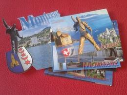 LOTE DE 25 POSTALES POST CARDS SUISSE MONTREUX SWITZERLAND FREDDIE MERCURY GROUP QUEEN MUSIC MÚSICA ROCK AND & ROLL VER - Música Y Músicos