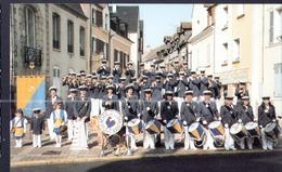 45, CPSM, Montargis, Batterie Fanfare, Le Reveil De La Chaussee - Montargis
