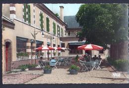 45, CPSM, Montargis, Hotel Terminus, Ses Jardins - Montargis