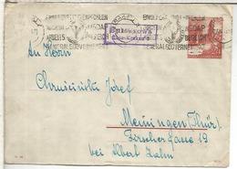 GENERAL GOUVERNEMENT POLONIA OCUPADA 1942 ENTERO POSTAL MAT NSDAP PARTIDO NAZI - 1939-44: 2ª Guerra Mundial