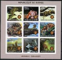 Guinée 2002 Lions Club  Cats Chats Panthère Imperf MNH MNH - Rotary, Lions Club