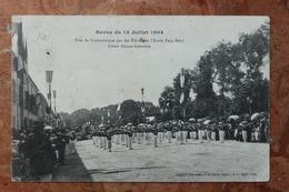 NANCY - REVUE DU 14 JUILLET 1904 (54) - FETE DE GYMNASTIQUE PAR LES ELEVES DE L'ECOLE PAUL BERT - COURS ALSACE LORRAINE - Nancy