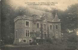 61 , ST BOMER LES FORGES , Chateau De La Mégrairie , * 430 85 - Francia