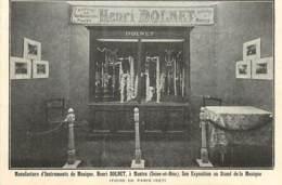 78 , MANTES , Manufacture D'instrument De Musique , Henri Dolnet  , * 431 15 - Mantes La Ville