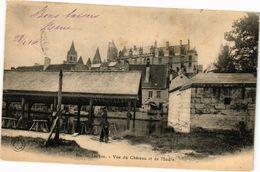 CPA LOCHES - Vue Du Chateau Et De L'Indre (228802) - Loches