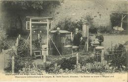 52 - Langres - Observatoire Météorologique De Langres - M. L' Abbé Raclot (Directeur) - Langres
