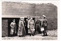 Propaganda Karte, ADOLF HITLER Mit Offiziere Bei Bunker ? - Weltkrieg 1939-45
