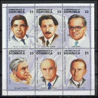 Dominique 2001 Nobel SANCHEZ CHAIN BOHR SEIFERT MURRAY HEYROVSKY  MNH - Nobel Prize Laureates