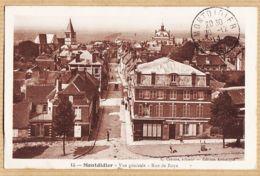 X80091 MONTDIDIER Somme Vue Générale Rue De ROYE 20-12-1914 Correspondance CpaWW1 - CATOIRE 15 - Autres Communes