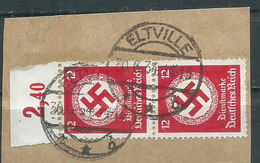 Timbre Allemand Obliteration Eltville - Germany