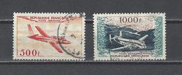 FRANCE  YT  PA N° 32-33  Obl  1954 - Posta Aerea