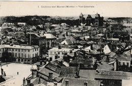 ChalonS Sur Marne Vue Générale ( Monument Aux Morts, Pharmacie Coiffeur , Société Générale , Cathédrale - Châlons-sur-Marne