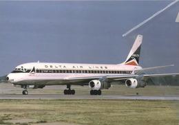 DAL - Delta Air Lines DC-8-51 N818E At MEM Airplane Aereo - 1946-....: Era Moderna