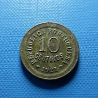 Portugal 10 Centavos 1921 - Portugal