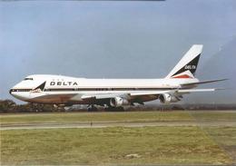 Delta Air Lines DAL B747 N9898 Airplane At DAL B 747 - 1946-....: Era Moderna