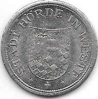 *notgeld Horde 10 Pfenng 1917 Zn  6448.1 / F216.1 - [ 2] 1871-1918 : Impero Tedesco