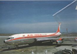Air India Boeing 707 Airlines VT-DJI Airplane At HND 707 Avion Aero - 1946-....: Era Moderna