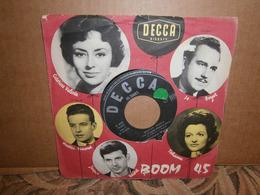 """SP 7""""   45t /  Caterina Valente Berger Blues  Decca - Vinyl-Schallplatten"""