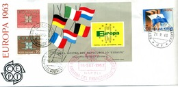 Busta COM. MOSTRA FILATELICA EUROPA-CEPT 1963 - Europa-CEPT