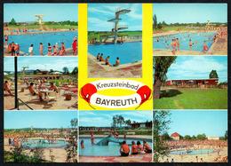 A4978 - Bayreuth - Kreuzsteinbad Freibad - Münch Druck - Bayreuth