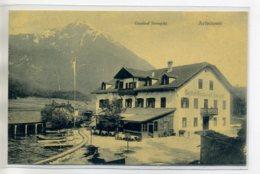 AUTRICHE ACHENSEE Carte RARE Train Pres Gasthof Restaurant Seespitz  - Ottmar Zieher No 842 P   /D19-S2017 - Achenseeorte